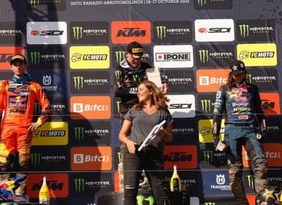Arroyomolinos se convierte en referente del deporte de élite y acoge a más de 10.000 visitantes durante el Campeonato Mundial de Motocross