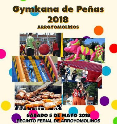 Arroyomolinos celebra la Gymkana de Peñas el próximo 5 de mayo