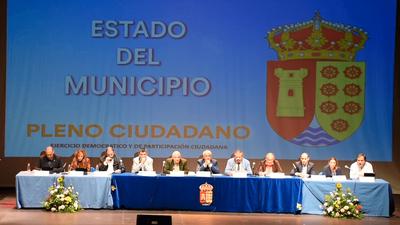 Arroyomolinos celebró este jueves su primer Pleno Ciudadano
