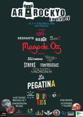 Desde el 10 de mayo Arroyomolinos celebra la IV edición del Festival Arrockyo en Vivo