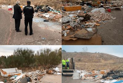 El Equipo de Gobierno de Arroyomolinos busca acabar con las escombreras ilegales de varios puntos del Polígono