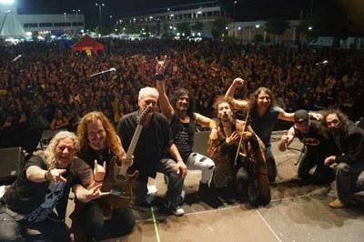 El Recinto Ferial recibe cerca de 17.000 personas durante los tres días del Festival Arrockyo en Vivo 2019