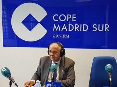 Entrevista a Carlos Ruipérez, Alcalde de Arroyomolinos, en Cope Madrid Sur, 89.7 FM haciendo un balance de 2017 y los proyectos de presente y futuro de Arroyomolinos.