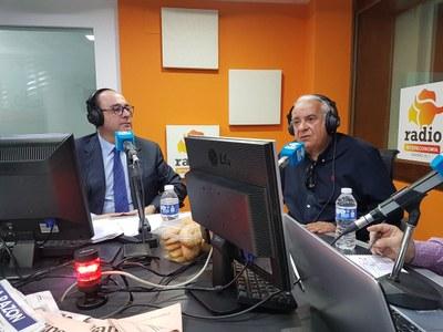"""Entrevista a Carlos Ruipérez, Alcalde de Arroyomolinos, en el programa """"Cruce de Caminos"""" de Radio Intereconomía"""