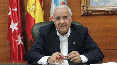 Entrevista a Carlos Ruipérez, Alcalde de Arroyomolinos, en Telemadrid sobre el Centro de Salud de Arroyomolinos