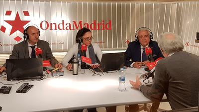 Entrevista al Alcalde de Arroyomolinos, Carlos Ruipérez, en Onda Madrid sobre la actualidad de Arroyomolinos