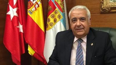 """Entrevista al Alcalde de Arroyomolinos, Carlos Ruipérez, en RNE sobre la L1, el """"búho"""" con Madrid y el transporte público."""
