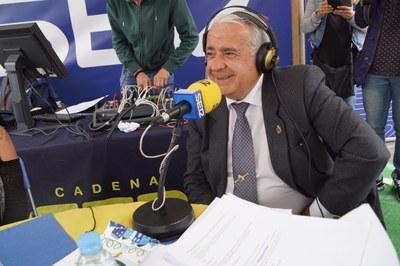 Entrevista al Alcalde de Arroyomolinos, Carlos Ruipérez, en Ser Madrid Oeste sobre las Fiestas del Corpus y la actualidad de Arroyomolinos
