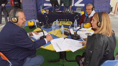 Entrevista en Ser Madrid Oeste del Concejal de Festejos, Francisco Ferrero y el Concejal de Seguridad Ciudadana, Juan José González sobre las Fiestas del Corpus.
