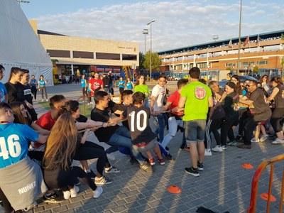 Más de 700 peñistas participan en la Gymkana de Peñas de Arroyomolinos
