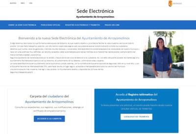 El Ayuntamiento de Arroyomolinos implanta su nueva Sede Electrónica: más accesible, más segura y con un nuevo diseño