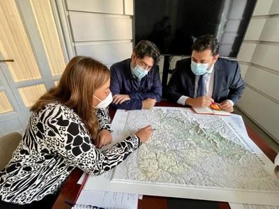 El equipo de gobierno se reúne con la Comunidad de Madrid para tratar las mejoras en transportes y comunicaciones para Arroyomolinos
