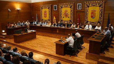 El 27 de septiembre a las 19:00 h, Pleno ordinario del Ayuntamiento