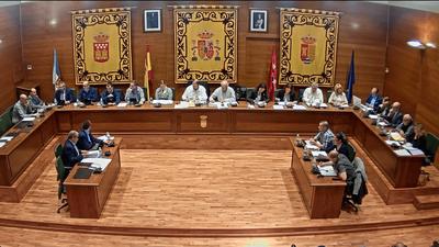 El 29 de noviembre a las 19:00 h, Pleno ordinario del Ayuntamiento