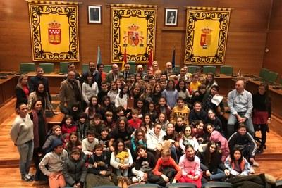 Arroyomolinos ha celebrado esta mañana su acto de homenaje a la Constitución Española, con motivo de su 41 cumpleaños.