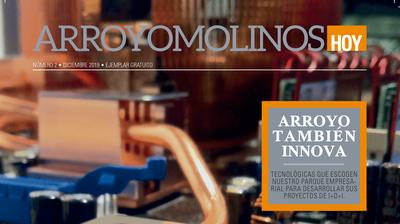 La revista municipal nos invita a conocer la programación cultural o deportiva de nuestro municipio, los colectivos y asociaciones de la ciudad y los proyectos con base tecnológica que nacen en Arroyomolinos.