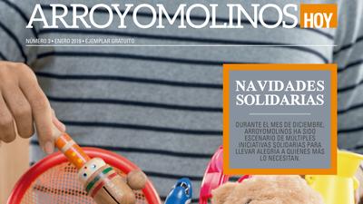Ya está disponible el tercer número de Arroyomolinos HOY