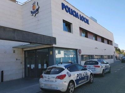 Policía Local de Arroyomolinos detiene a dos personas que portaban 82 gramos de Hachís