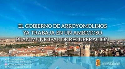El Gobierno de Arroyomolinos ya trabaja en un ambicioso Plan Municipal de Recuperación