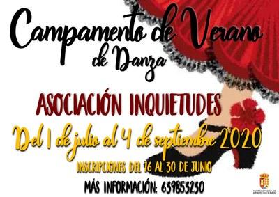 Campamento de verano de Danza