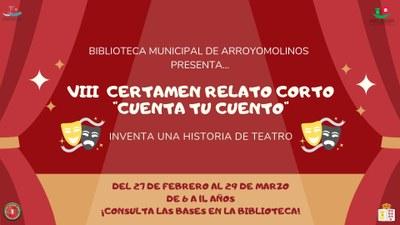 """Con el teatro """"Cuenta tu Cuento"""" en Arroyomolinos"""