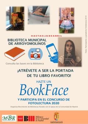 "Concurso Fotolectura 2020. ""Hazte un Bookface"""