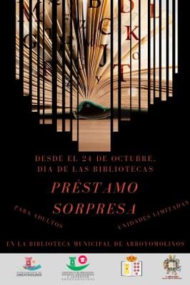 Desde el 24 de octubre déjate sorprender en la Biblioteca Municipal de Arroyomolinos