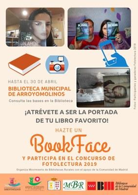 """Hazte un """"BookFace"""" en Arroyomolinos hasta el 30 de abril"""