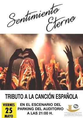 El escenario del parking del Auditórium de Arroyomolinos acogerá el viernes 25 de mayo a las 21:00 horas un espectáculo tributo a la canción española y, en concreto, a la artista Rocío Jurado