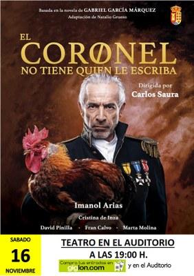 Basada en la novela de Gabriel García Márquez  Adaptación de Natalio Grueso