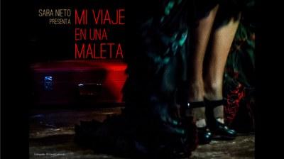 """""""Mi viaje en una maleta"""" es un espectáculo de flamenco-teatro para todos los públicos. Sara Nieto nos cuenta un viaje por la vida a través del cante, el baile y el teatro."""