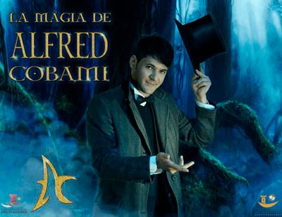 La magia con mayúsculas llega a Arroyomolinos de la mano de Alfred Cobami. Un espectáculo con números de escapismo, ilusionismo, mentalismo y pruebas de extrema resistencia física.