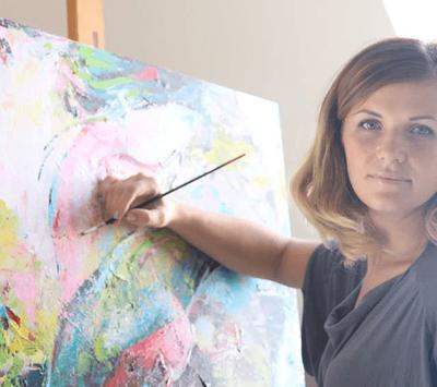 """En Arroyomolinos viviremos la pintura """"Con Alma"""" gracias a Natalia Polischuk"""