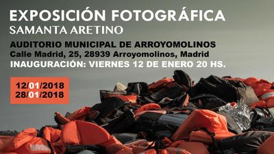 """La exposición fotográfica """"Sin Refugio"""" llega a Arroyomolinos el 12 de enero."""