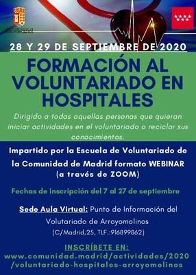 Formación en voluntariado en Arroyomolinos