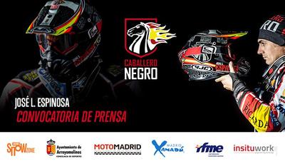 """El """"Caballero Negro"""" presentará en Arroyomolinos su proyecto para el Rally Dakar 2017"""