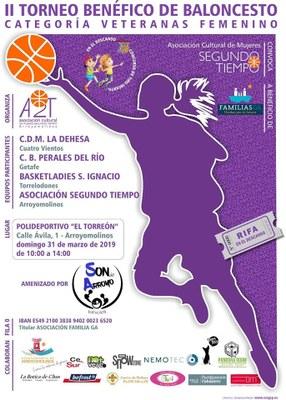 """Baloncesto solidario en Arroyomolinos con la Asociación """"Segundo Tiempo"""""""