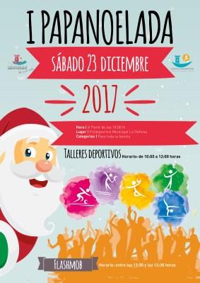 La cita será la mañana del 23 de diciembre y contaremos con actividades deportivas para toda la familia y un flashmob para empezar la Navidad con el mejor ritmo.