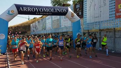 La VII Carrera de Otoño de Arroyomolinos congregó a casi 1.100 participantes