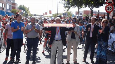 Más de 7000 arroyomolinenses se dan cita en la última salida de La Vuelta