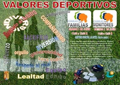 En Arroyomolinos hablamos de valores deportivos