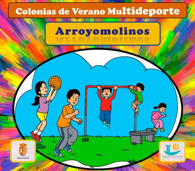 Desde el 7 de mayo se abre la inscripción a las Colonias de Verano Multideporte en Arroyomolinos. Se ofertan 440 plazas para cada uno de los periodos programados.