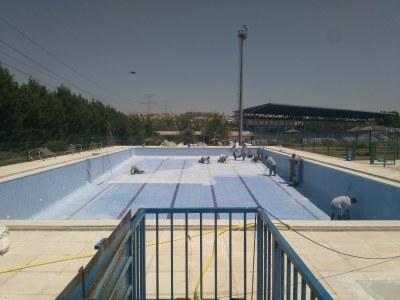 Comienzan las obras y la tramitación de los contratos de mantenimiento de las dos piscinas municipales para su apertura
