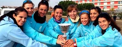 El Club Atletismo de Arroyomolinos consigue el Campeonato de Madrid de Cross de veteranas