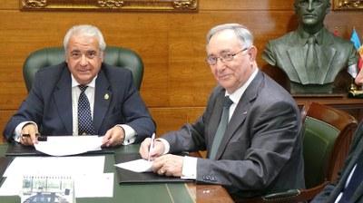 Arroyomolinos prorroga sus acuerdos con la Real Federación de Fútbol de Madrid