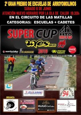 Será la 10º y última prueba de la Super Cup Uves Bikes Kids en la que participan las escuelas madrileñas de BTT.