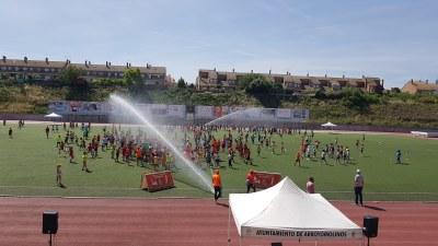 Más de 2.700 alumnos de primaria han participado en las III Olimpiadas Escolares 2018 de Arroyomolinos