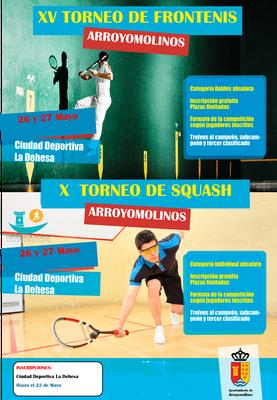 El 26 y 27 de mayo los deportes de raqueta protagonizaran las actividades deportivas previas a las fiestas. Ambos torneos se desarrollarán en categoría absoluta.