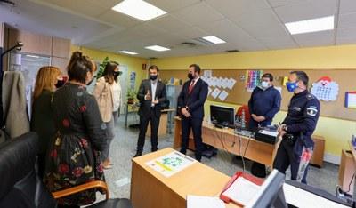 El Ayuntamiento y la Comunidad de Madrid estrechan su colaboración para ofrecer nuevas fórmulas de participación y alternativas de ocio saludables a los jóvenes de Arroyomolinos