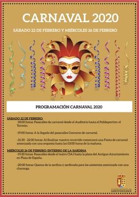 El Carnaval vuelve al centro de Arroyomolinos, con un Pasacalles y un Concurso de disfraces y comparsas